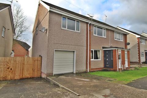 4 bedroom semi-detached house for sale - Byron Avenue, Beddau, Pontypridd, Rhondda, Cynon, Taff. CF38 2TW