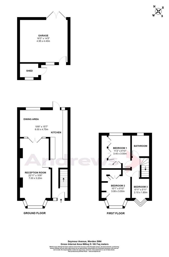 Floorplan: Seymour Avenue, Mord