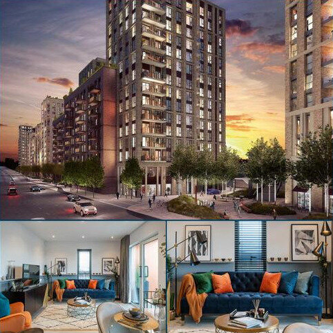 2 bedroom apartment for sale - Plot C0811, Block C - Type 17 at Brunel Street Works, Brunel Street Works, Silvertown Way, Canning Town E16