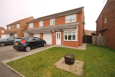 3 bedroom semi-detached house for sale - Honeysuckle Close, Bishop Cuthbert, Hartlepool