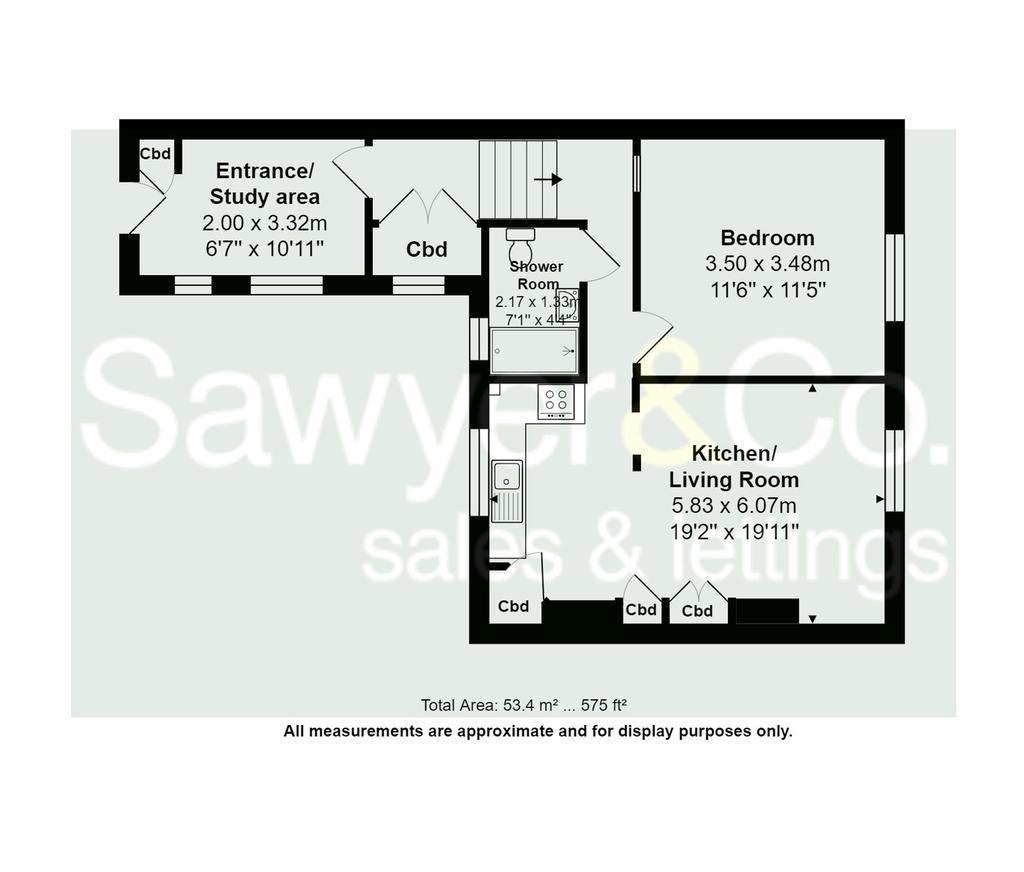 Sussex Square, Brighton, East Sussex, BN2 1 Bed Apartment