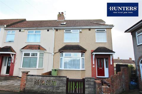 4 bedroom end of terrace house for sale - Worcester Close, Bristol, BS16 3PW