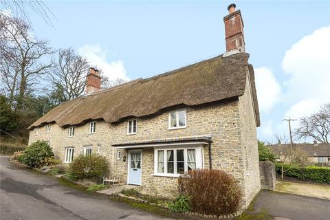 3 bedroom end of terrace house for sale - Frome Cottages, Back Lane, Evershot, Dorchester, DT2