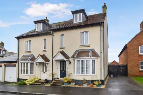 3 bedroom semi-detached house for sale - MODERN FAMILY HOME ARRANGED OVER THREE FLOORS WITH GARAGE AND LOW MAINTENACE GARDEN.