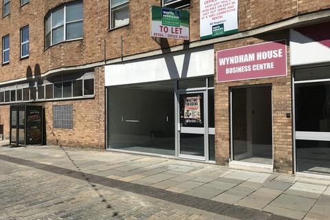 Retail property (high street) to rent - Lock-up Retail/Business Premises, 1 Wyndham Street, Bridgend, CF31 1ED