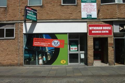 Retail property (high street) to rent - 1 Wyndham Street, Bridgend, CF31 1ED