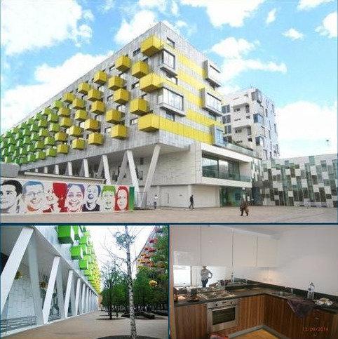 1 bedroom apartment to rent - SCHRIER ROPEWORKS, Arboretum Place (PART DSS), BARKING IG11