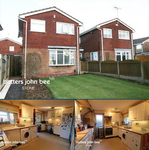 3 bedroom detached house for sale - Fillybrooks, Stone