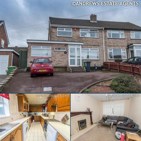 3 bedroom semi-detached house for sale - Bankside Crescent, Streetly, SUTTON COLDFIELD