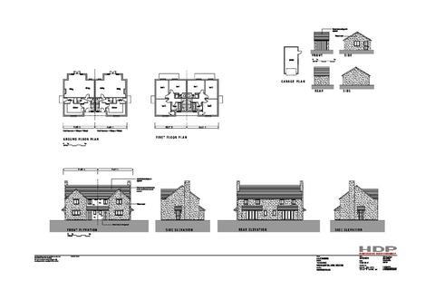 6 bedroom semi-detached house for sale - Building Plot