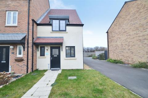 2 bedroom end of terrace house for sale - Trevelyan Close, Earsdon View