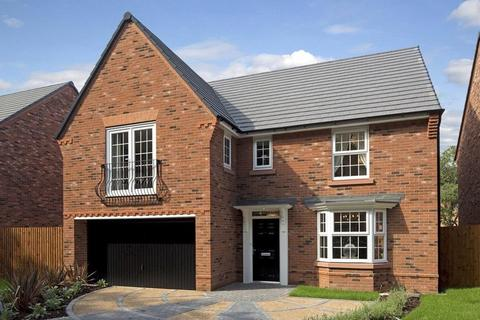 David Wilson Homes - Black Firs Park - Plot 120, Alderney at Somerford Reach, Black Firs Lane, Somerford, CONGLETON CW12