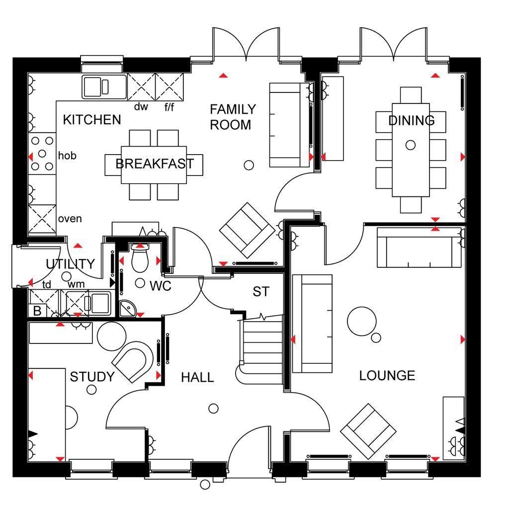 Floorplan 1 of 3: Buckingham ground floor