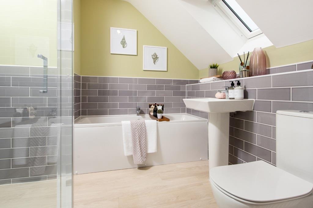 The paddocks Plot99 Bathroom2