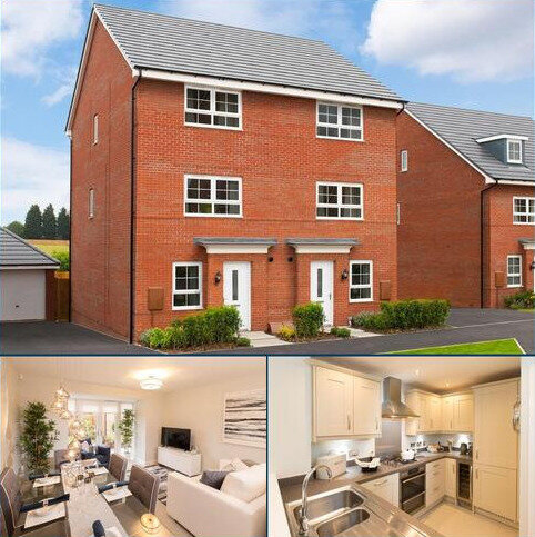 4 bedroom semi-detached house for sale - Plot 245, HAVERSHAM at Newton's Place, Barrowby Road, Grantham, GRANTHAM NG31