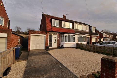 3 bedroom semi-detached house for sale - Acomb Crescent, Newcastle upon Tyne, Tyne and Wear, NE3 2BD
