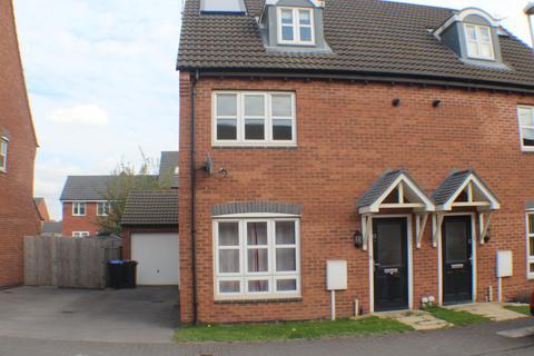4 bedroom semi-detached house to rent - Roman Crescent, Hucknall, Nottingham, NG15