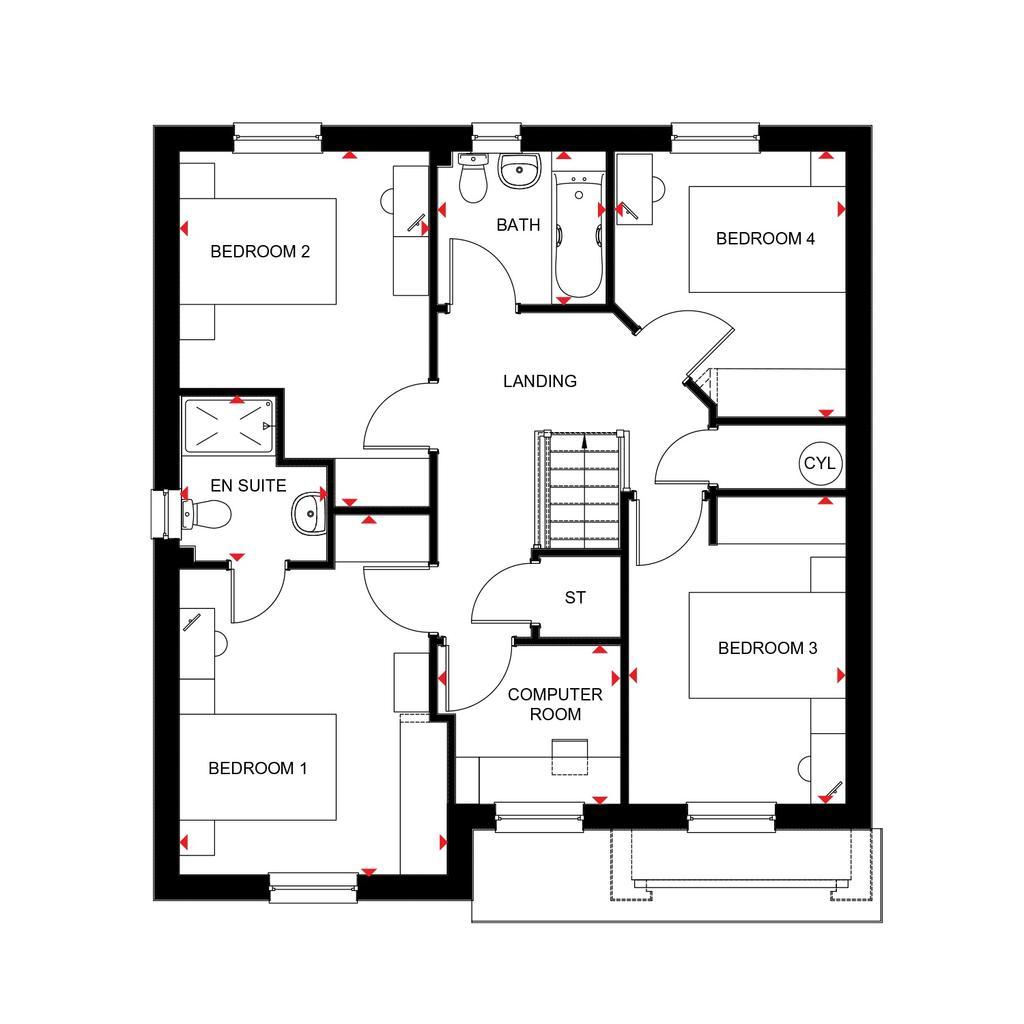 Floorplan 2 of 2: Cullen 2018 floorplan layout September 2019