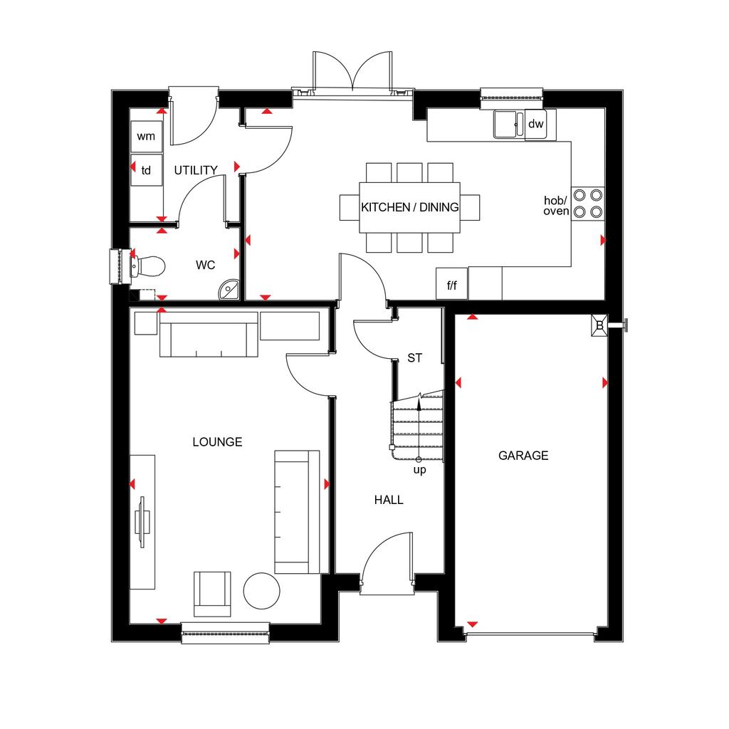 Floorplan 1 of 2: Cullen 2018 floorplan layout September 2019