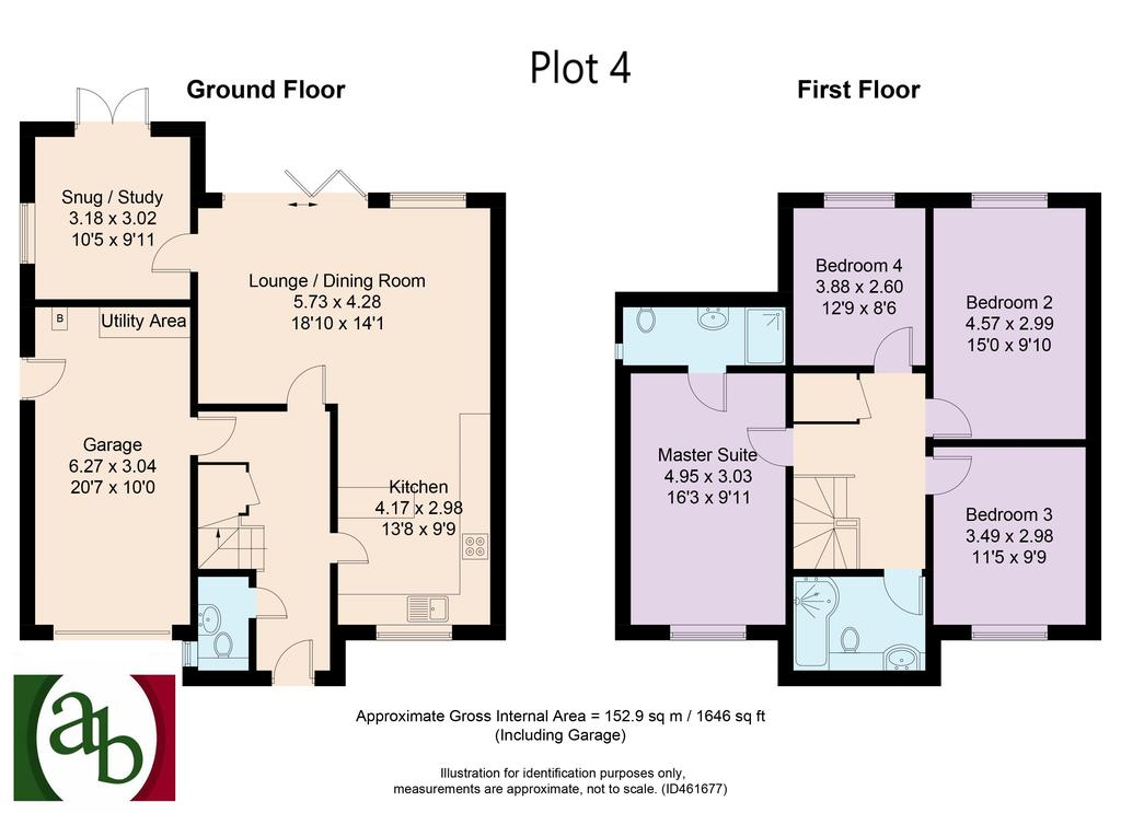 Floorplan: Plot 4