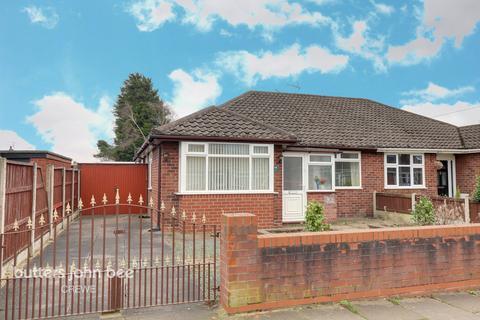 3 bedroom semi-detached bungalow for sale - Marley Avenue, Crewe