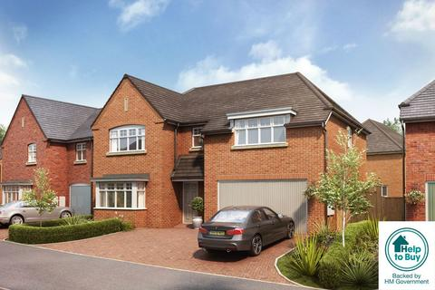 5 bedroom detached house for sale - The Melbury, Stencil Gardens, Walsall, WS4