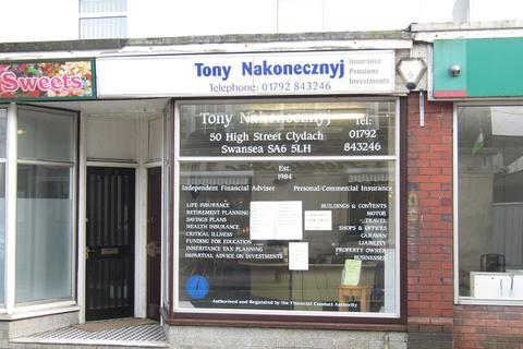 Shop for sale - High Street, Clydach, Swansea, City And County of Swansea.