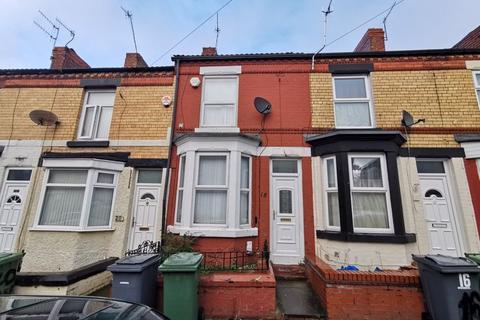 2 bedroom terraced house for sale - 18 Harrowby Road, Birkenhead