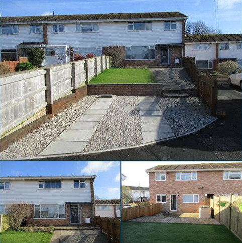 3 bedroom end of terrace house to rent - The Hollows, Exmouth EX8