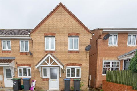3 bedroom end of terrace house for sale - Langdon Close, Consett, DH8 7NG