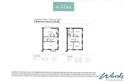 3 bedroom terraced house for sale - Blunden Lane, Yalding, Maidstone, Kent