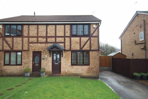 3 bedroom semi-detached house for sale - THORNLEA DRIVE, Norden, Rochdale OL12 7GD