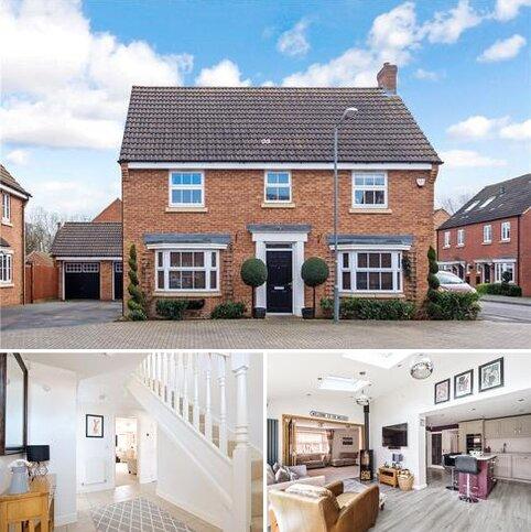 4 bedroom detached house for sale - Brickhill Way, Calvert Green, Buckingham, Buckinghamshire, MK18