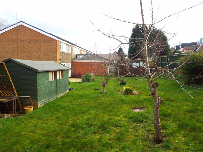 Side view garden