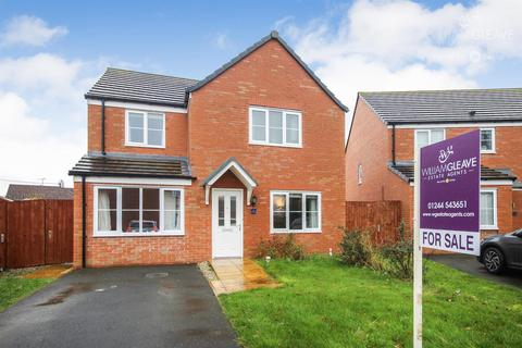 4 bedroom detached house for sale - Ffordd Brannan, Buckley