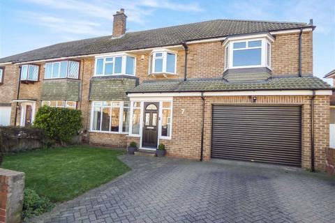 5 bedroom semi-detached house for sale - Monkstone Crescent, Tynemouth