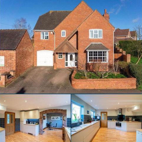 5 bedroom detached house for sale - Church Road, Kirkby Mallory