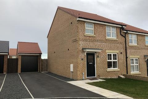 3 bedroom semi-detached house to rent - Mercers Way, Alnwick, Northumberland