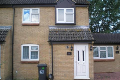 2 bedroom end of terrace house to rent - Burwell Close, Witney, Oxon, OX28 5JN
