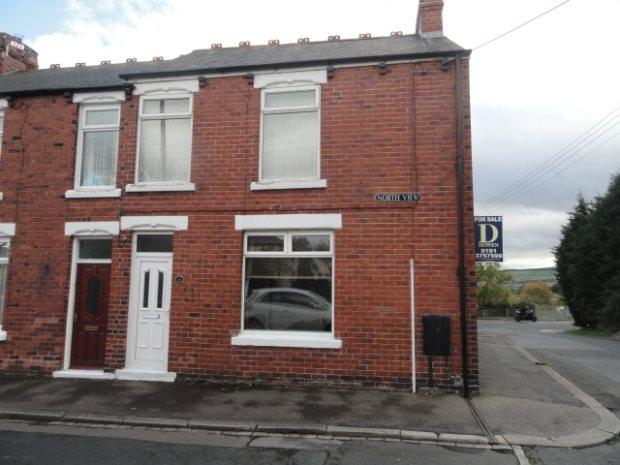 2 Bedrooms Terraced House for sale in NORTH VIEW, BEARPARK, DURHAM CITY : VILLAGES WEST OF