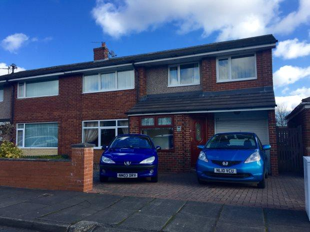 5 Bedrooms Semi Detached House for sale in RICHMOND ROAD, NEWTON HALL, DURHAM CITY