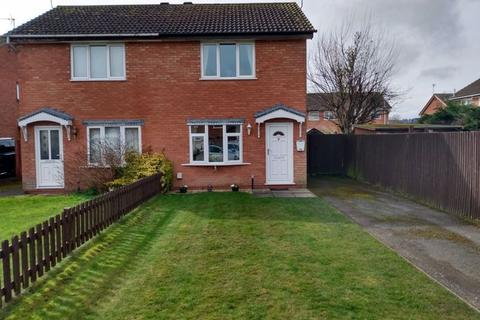 2 bedroom semi-detached house for sale - Whitfield Close, Oswestry