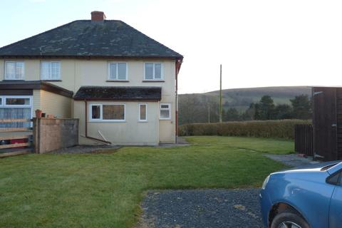 2 bedroom semi-detached house to rent - Sennybridge, Brecon, LD3