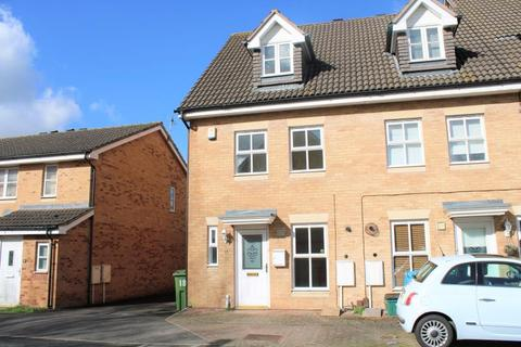 3 bedroom end of terrace house to rent - Wharfdale Square, Cheltenham, GL51 8DL