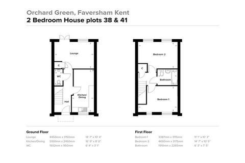 2 bedroom terraced house for sale - Nursery Gardens, Faversham, Kent
