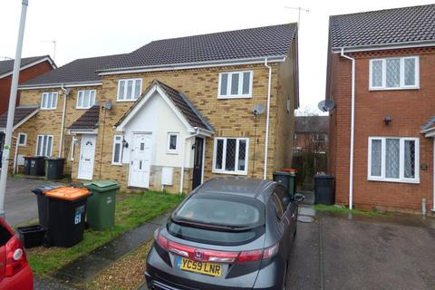 2 bedroom end of terrace house to rent - Wiseman Close, Luton, LU2 7GE