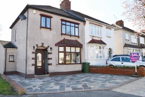 3 bedroom semi-detached house for sale - Rosslyn Avenue, Harold Wood