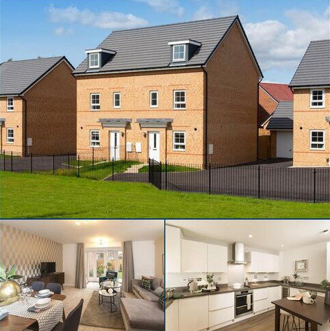 4 bedroom semi-detached house for sale - Plot 303, Woodcote at Bedewell Court, Adair Way, Hebburn, HEBBURN NE31