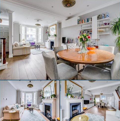 5 bedroom terraced house for sale - Mablethorpe Road, London, SW6
