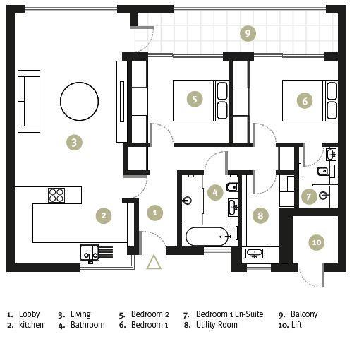 Floorplan: Apartment19